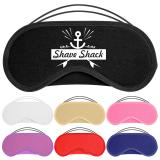 Branded Cotton Eye Masks with Logo Print