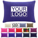 Promotional Travel Pillow - 30cm x 20cm with optional logo print