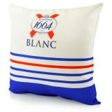 Branded Cushions on Water Resistant Fabric