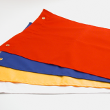 Coloured Fabric Flags