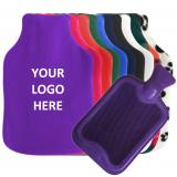 Custom Hot Water Bottle Cover - with Optional 1 Colour Logo Print