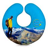 Branded Travel Pillows - U-Shaped Neck Pillow