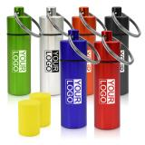 Earplugs in Coloured Logo Printed Metal Container