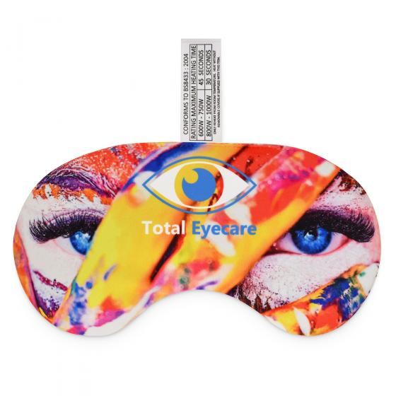 Microwave Eye Mask Heat Pack with Logo Print