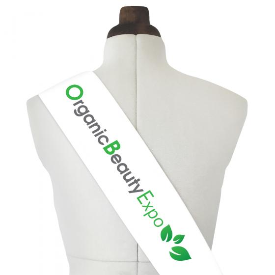 Logo Sash with Full Colour Logo Print