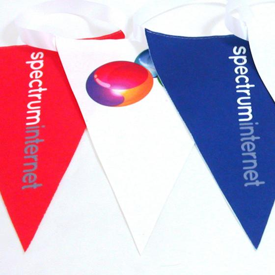 Logo Bunting with Full Colour Print