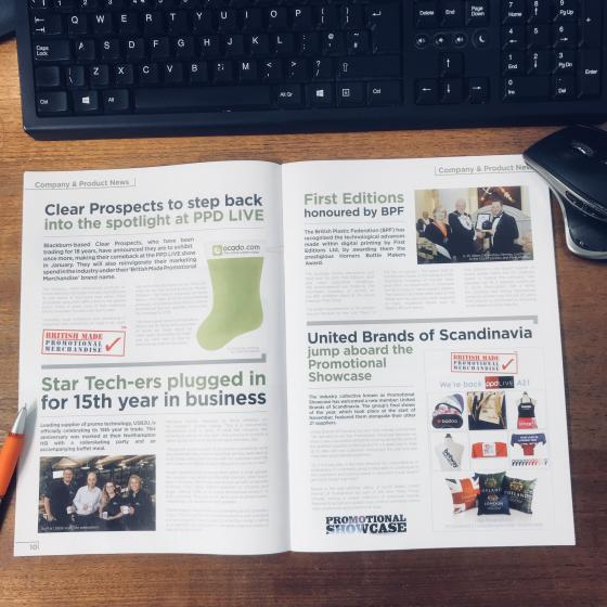 BMPM's Advertisement and Editorial Piece in PPD Magazine