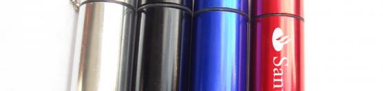 Promotional earplugs in metal canister for formula 1