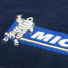 Embroidery used to brand logos onto fleece and other fabrics