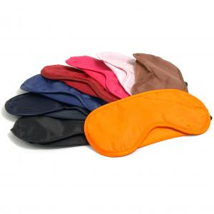 Colours of Airline Eye Masks for Logo Printing available from UK Stock
