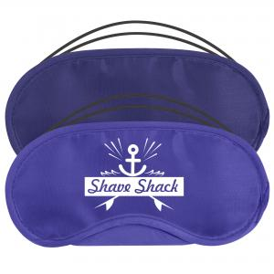 Blue Airline Eye Masks showing both Navy Blue and Royal Blue options