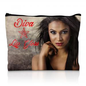Logo Printed Cosmetic & Makeup Bag - Full Colour Print - UK Made