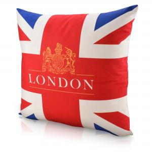 Union Jack Full Colour Branded Cushions made to any shape and print requirement