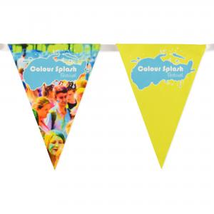 Full Colour Logo Bunting from British Made Promotional Merchandise