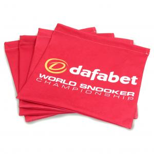 Branded Drawstring Bag shown with edge to edge printing