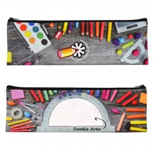 Full Colour Logo Printed Pencil Cases UK Made