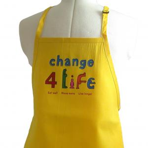 Logo Printed Aprons Imported on Larger Quantities