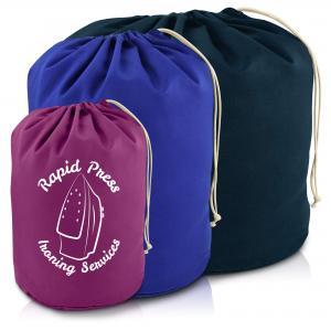 Logo Printed Laundry Bags
