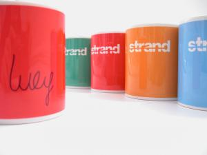 Branded Mugs printed in full colour dye sub with logos or photos and designs