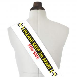 Sash with Stay Safe Full Colour Logo from BMPM