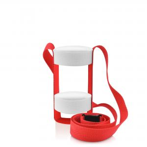 Water Bottle Sling Holder (shown with double elastic option)